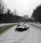 Временно затворен път в Добрич
