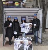 """Срещи с граждани в предизборната шатра на КП """"Реформаторски блок – Глас народен"""" в Добрич"""