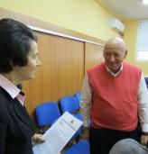"""Областният управител поздрави Недко Митев с високото отличие """"Агробизнесмен на България"""""""