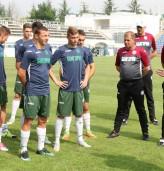 Националите по футбол тренират в Албена за европейското