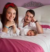 Матей, мама Анна и татко Радослав