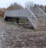 Новият мост в село Славеево