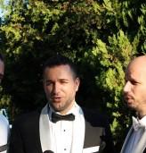 Трио Тенорите със специален поздрав към учителите от Община Каварна