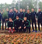Шампионите засадиха маслиново дръвче в Албена
