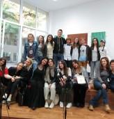 """Среща на тема """"Междукултурен обмен чрез музика"""" в рамките на по-рок конкурс """"Сарандев""""2017"""