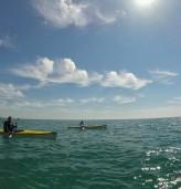 Разходка с лодка и морски каякинг забавляват травъл блогъри по добруджанското черноморие