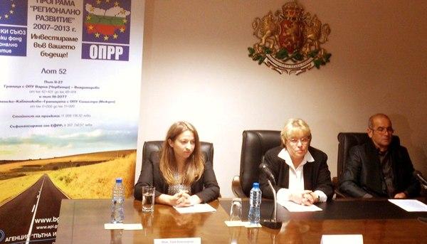 Завърши рехабилитацията на 18 км пътна мрежа в област Добрич