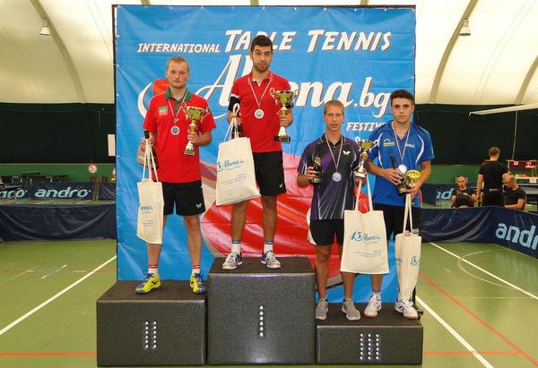 Излъчиха шампионите на международния турнир по тенис на маса в Албена