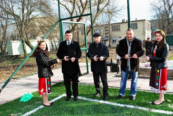Откриха ново футболно игрище в Генерал Тошево