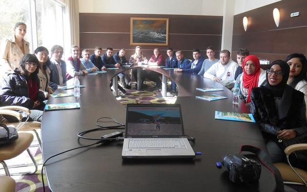 Британски студенти и преподаватели посетиха Добрич