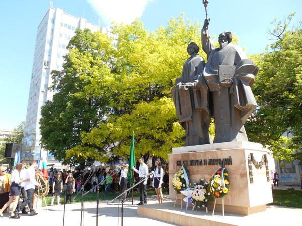 155 години от първото организирано честване на светите равноапостоли Кирил и Методий в Добрич