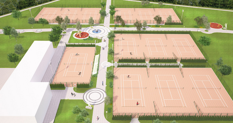 В Албена започна строителството на нов тенис център