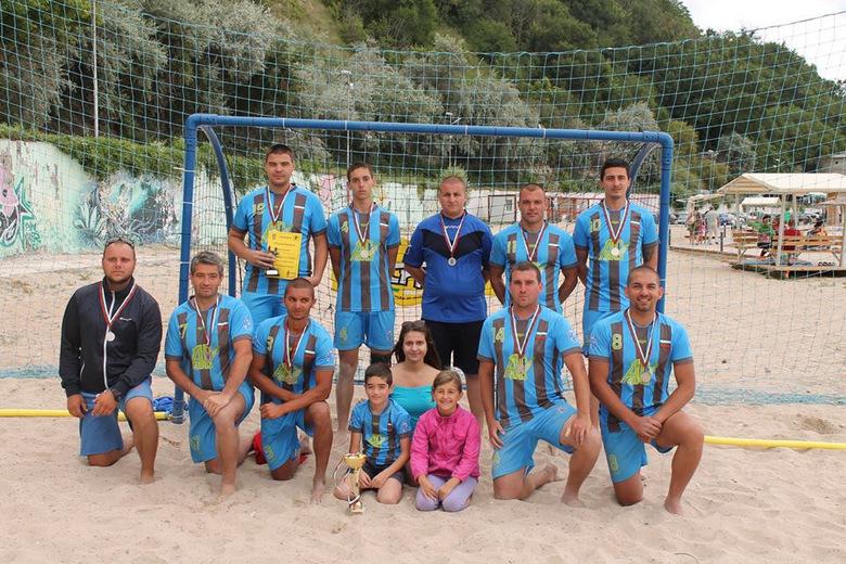 Второ място за Калиакра на турнира по плажен хандбал в Каварна