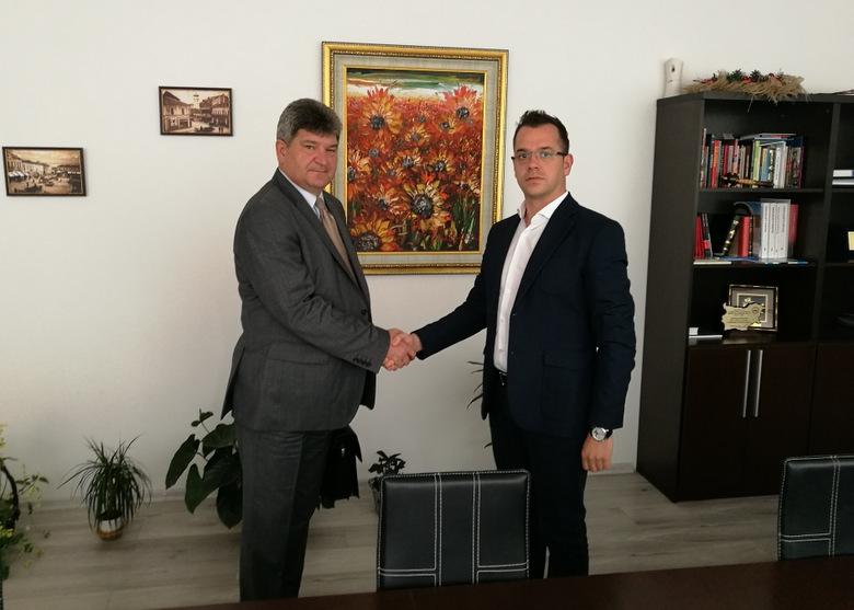 Кметът на Добрич Йордан Йорданов се срещна с посланика на Беларус