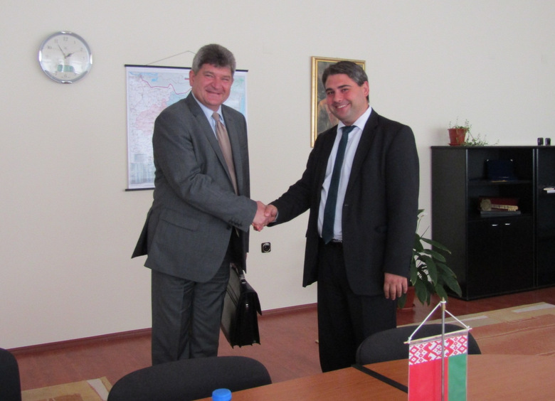 Областният управител Красимир Кирилов се срещна с посланика на Беларус