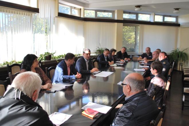 Заседава Щабът за защита при бедствия и аварии в Генерал Тошево