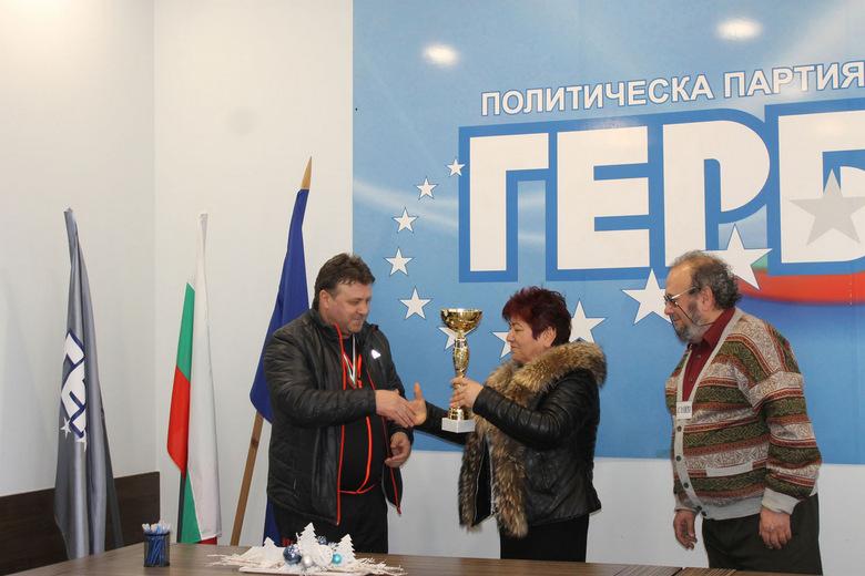 Пенко Йорданов спечели коледния турнир по табла в Добрич