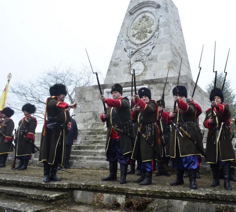 Пресъздават посрещането на руските войски в освободения Добрич