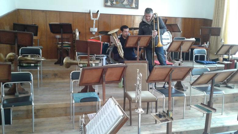 """Духовият оркестър на Добрич вече се помещава в бившето училище """"Отец Паисий"""""""