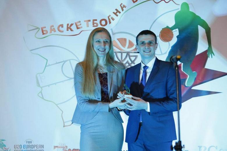 Избраха добричлия за най-добър баскетболен съдия в България