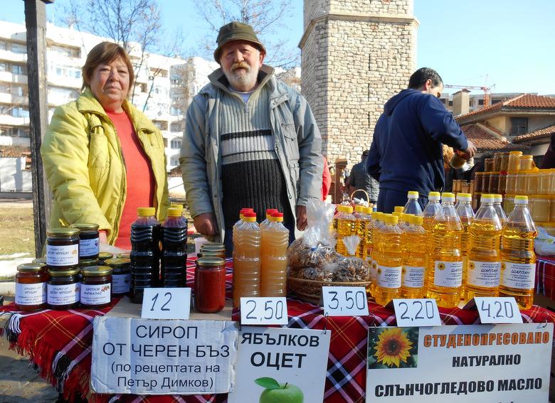 За първи път шарлан на фермерския пазар в Добрич