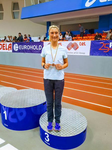 Бронзов медал за Радосвета Симеонова на държавното първенство в зала