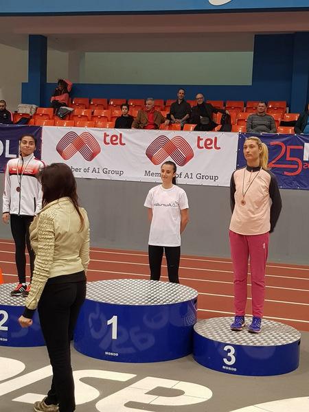 Втори медал за Радосвета Симеонова на националния шампионат по лека атлетика