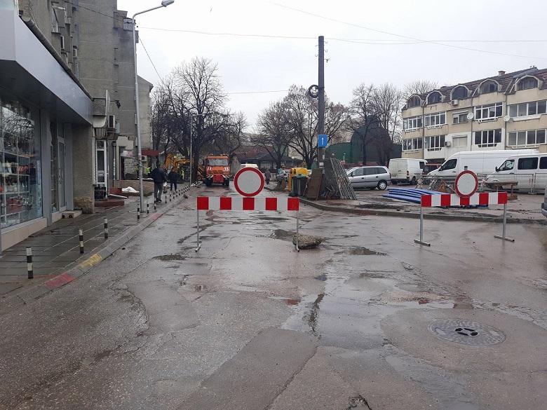 Улици, по които ще се работи по проекта за воден цикъл на 13 март