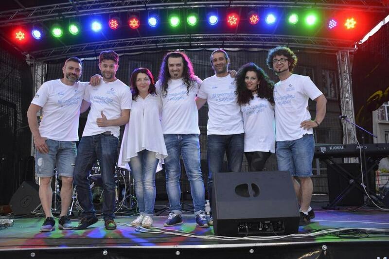 И музиканти подкрепиха Каварна за Европейски град на спорта