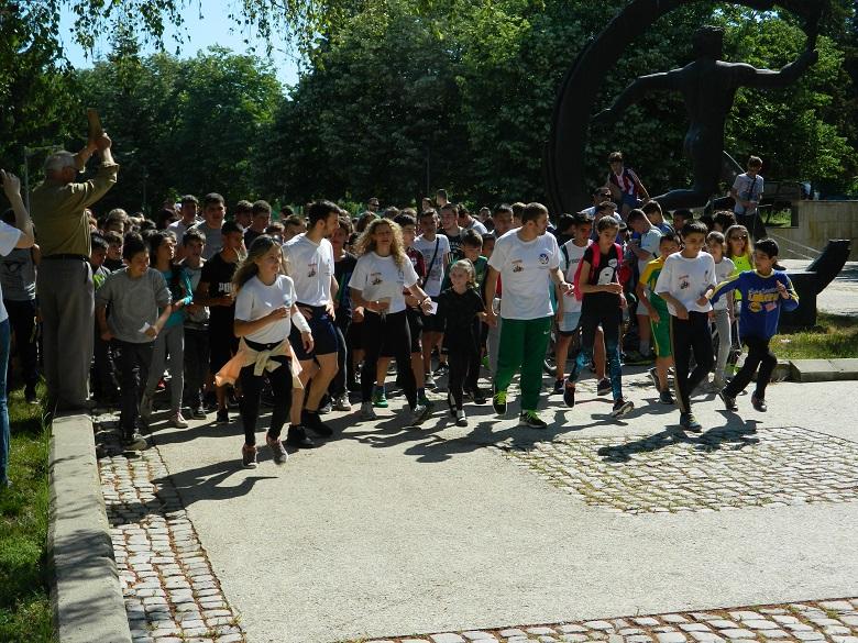 500 деца се включиха в Световния ден на предизвикателството в Добрич