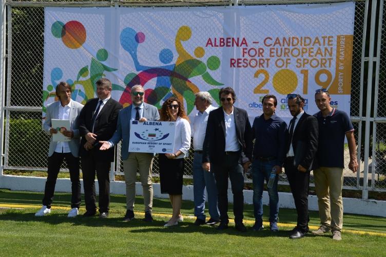 Албена с кандидатура за Европейски курорт на спорта 2019
