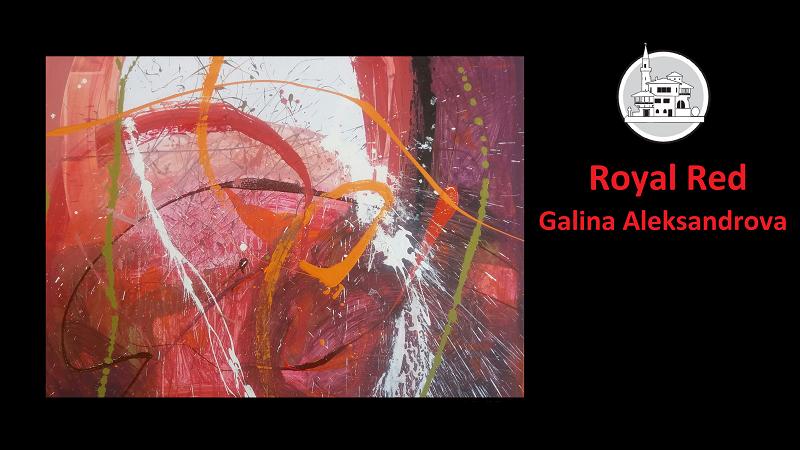 Изложба абстрактна живопис на Галина Александрова представят в Двореца – Балчик