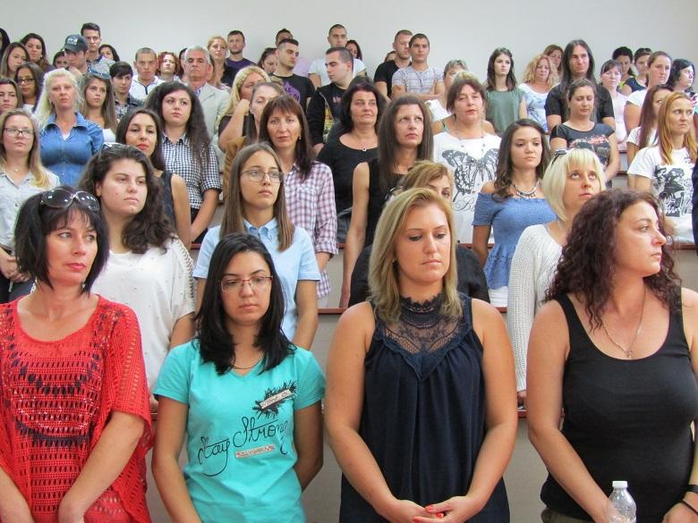 Откриха академичната година в Колеж Добрич