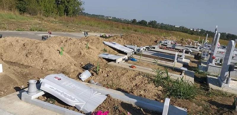 Обвиняемият за повреждане на надгробни паметници в Добрич е настанен в психиатрия