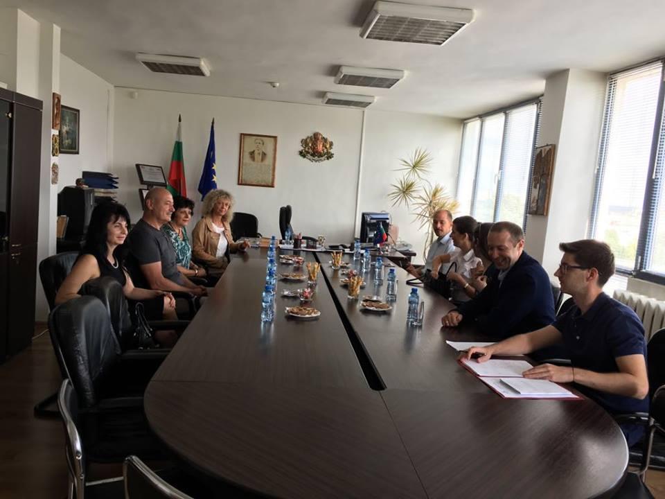Магистрати от Унгария гостуваха в Окръжен съд - Добрич