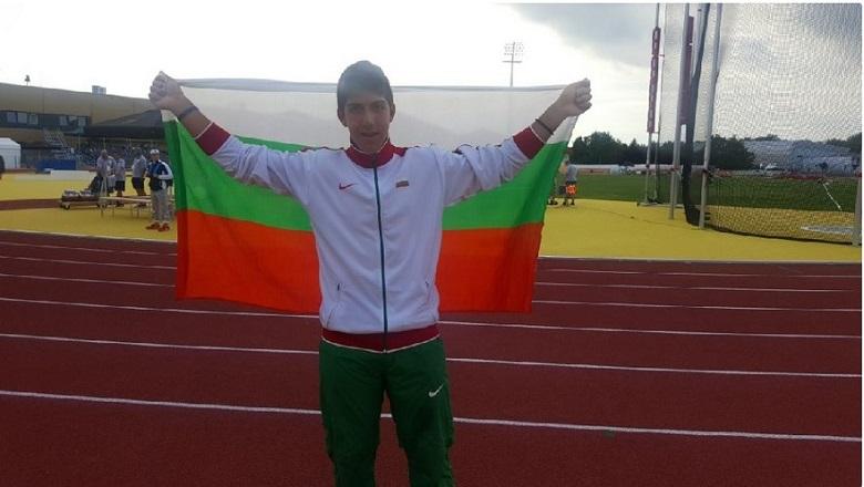 Валентин Андреев от Балчик втори в първия етап на младежката олимпиада