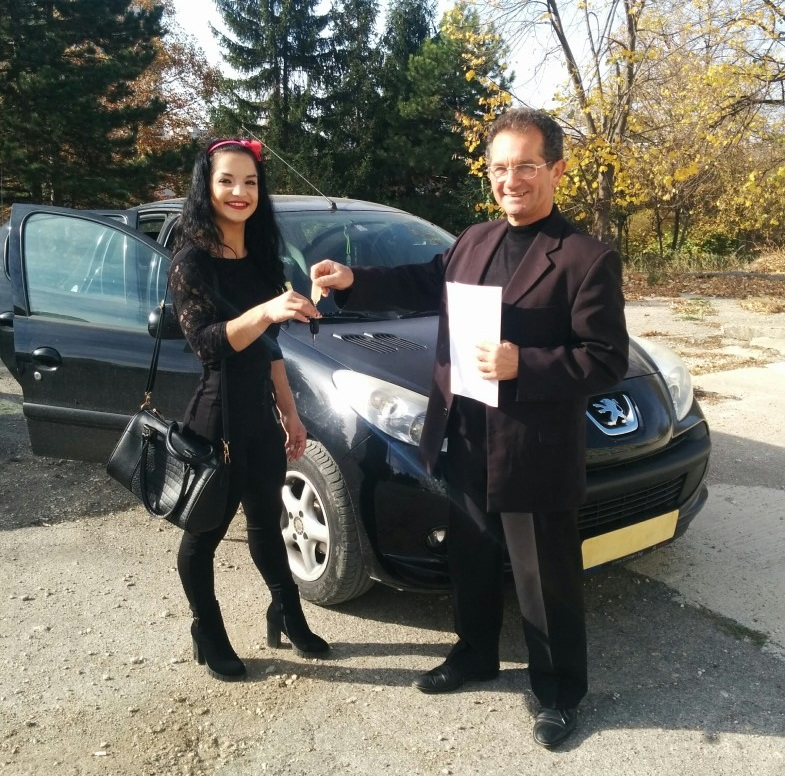Наградиха европейската шампионка Даяна Димитрова с автомобил