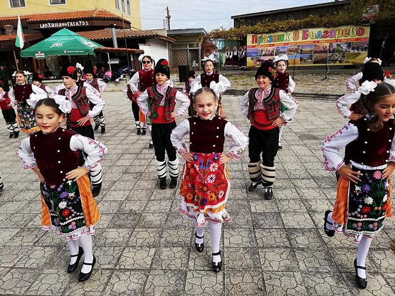 С песни,танци и усмивки село Българево отбеляза своя празник