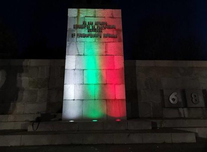 Добричлия поднови потрошеното осветление на паметника на хан Аспарух