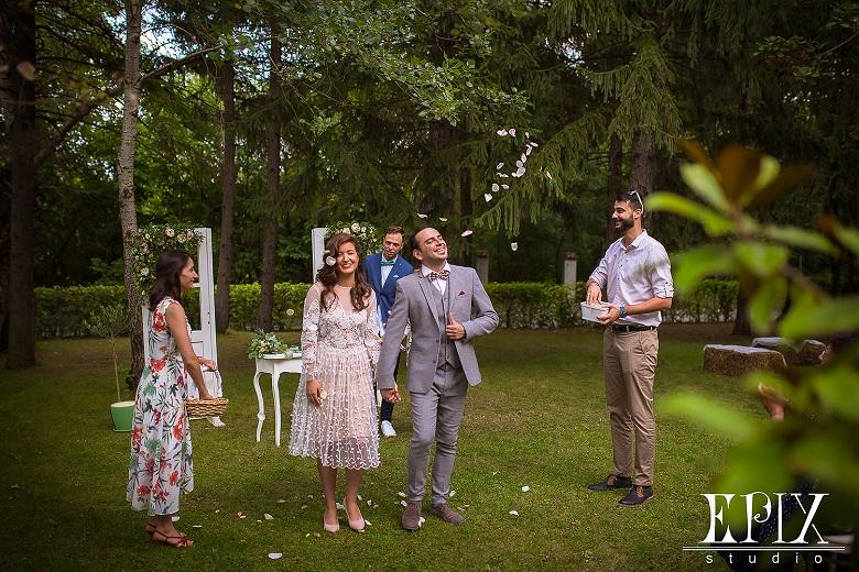 Сватбата на Мария и Николай – символ на силната любов като корените на дърветата