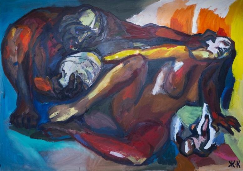 Живопис и рисунки на Жулиета Койчева представя Художествената галерия