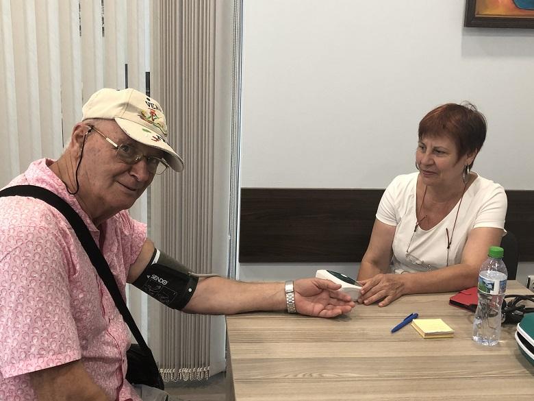 Продължава интересът към кампанията на ГЕРБ - Добрич за безплатно измерване на кръвното налягане и кръвната захар