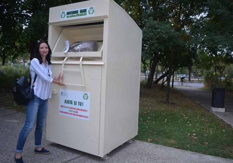 До десет дни в Добрич монтират контейнери за събиране на употребявани дрехи