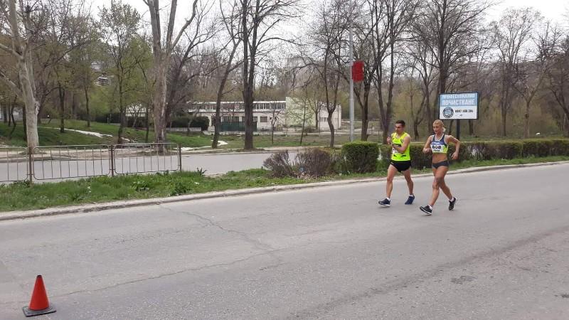 """Три титли грабнаха атлетите на """"Добруджа 99"""" от домашното първенство по спортно ходене"""