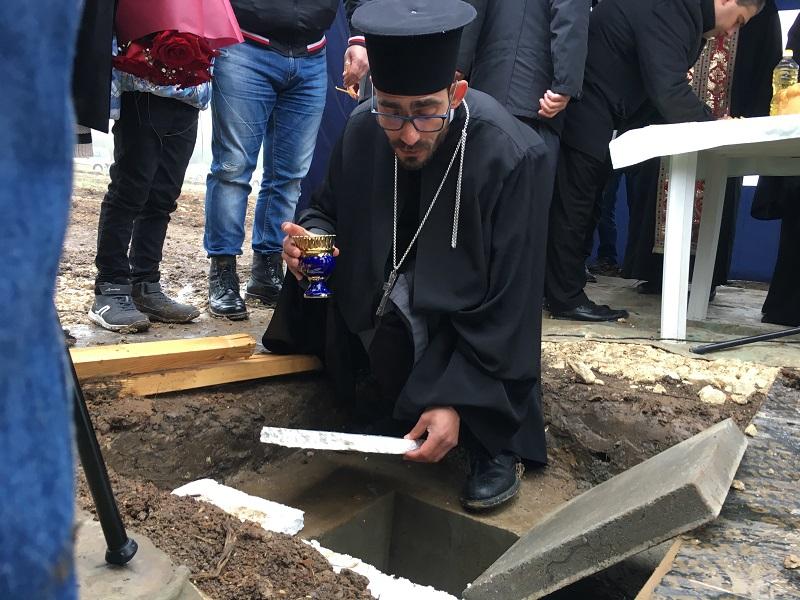 """Направиха първа копка на бъдещия най-висок храм в Добрич """"Св. Лука Кримски"""""""