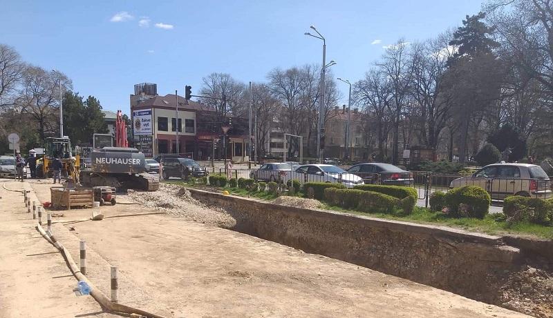 Санкции за некачествено възстановяване на улици и булеварди след водния цикъл ще бъдат налагани от Община Добрич