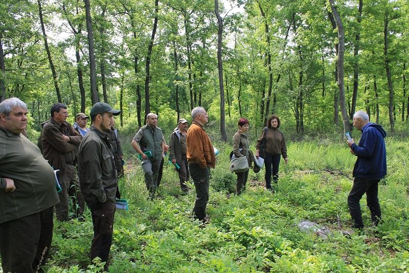 Лесовъди отчетоха добрите резултати от иновативните методи, приложени в учебната база на ДГС-Генерал Тошево