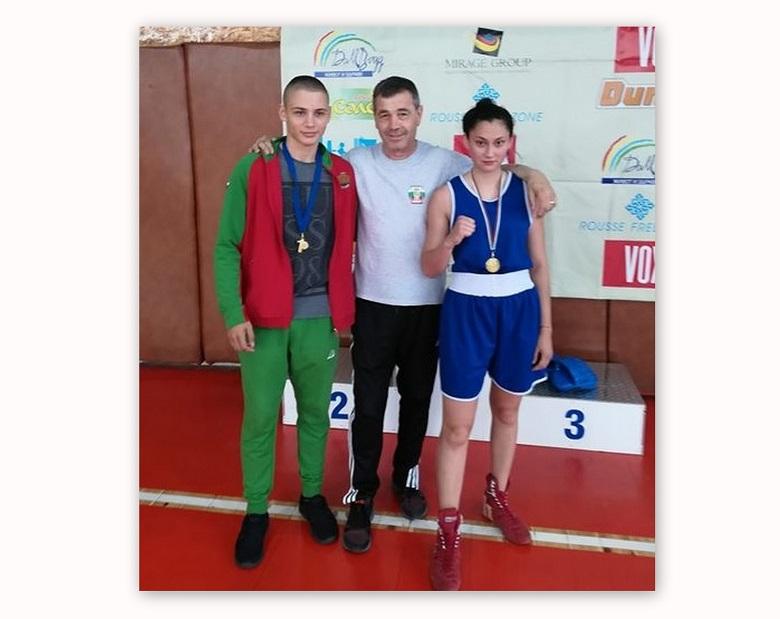 "Два златни медала спечелиха боксьорките на ""Добруджа"""