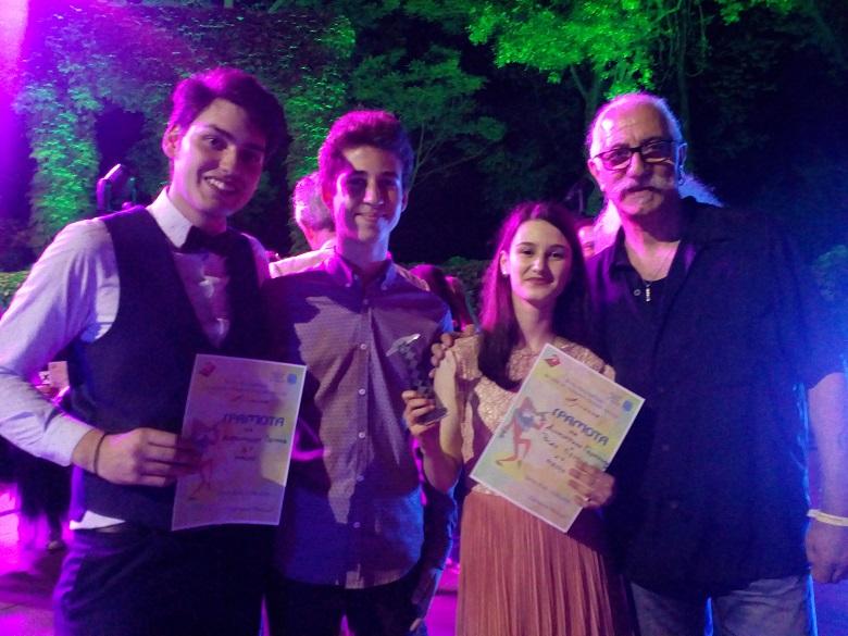 """Първо, второ място и приз """"Арлекин"""" спечелиха изпълнители от """"Сарандев"""" на престижен фестивал"""