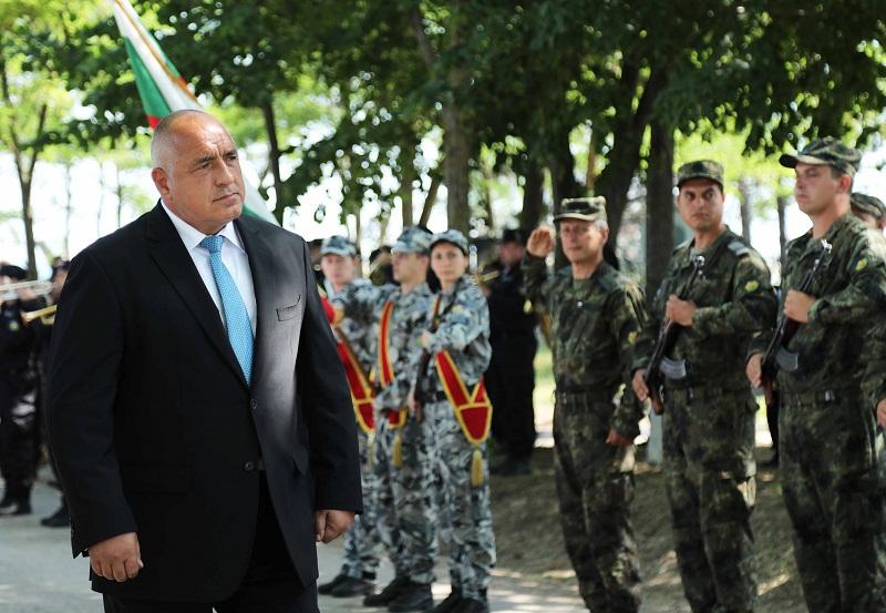 Бойко Борисов в Шабла: Ученията са важни за дипломацията и за външната политика на България